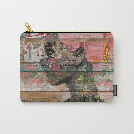 Inner Nature (Profile of Woman) Carry-All Pouch