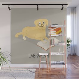 The Labrarian Wall Mural