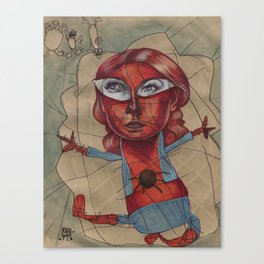 SPIDEY'S COBWEBS Canvas Print