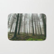 Follow me into the woods Bath Mat