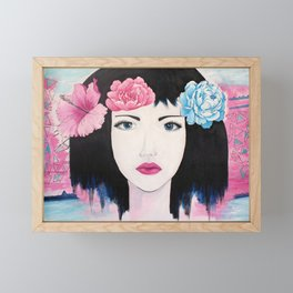 Beauty Framed Mini Art Print