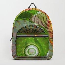 Sunny Basal Mandalas Backpack