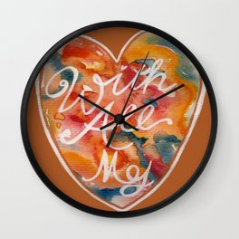 With All My  Wall Clock