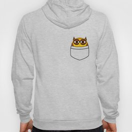 Pocket owl is highly suspicious Hoody