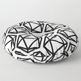D20 Pattern Large Floor Pillow