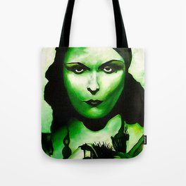 Green Goddess Tote Bag