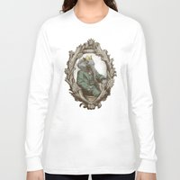 yetiland Long Sleeve T-shirts featuring Royal Portrait, 1931 by Eric Fan