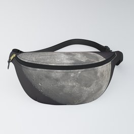 Waxing Gibbous Moon Fanny Pack