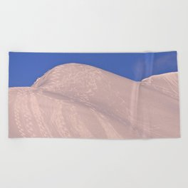 Back-Country Skiing - 7 Beach Towel