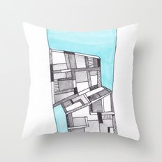 Lost Keys Cafe 2 Throw Pillow