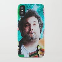 jessica lange iPhone & iPod Cases featuring Artie Lange by John Turck