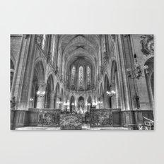 Chiesa Saint Germain l'Auxerrois Canvas Print