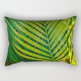 TROPICAL GREENERY LEAVES no9 Rectangular Pillow