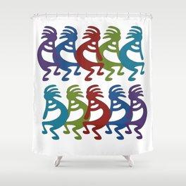 Tribal Kokopelli Shower Curtain