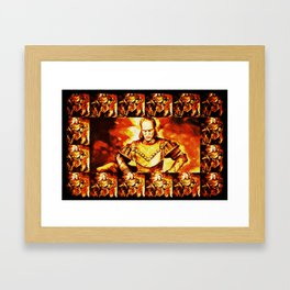 Ghostbuster Vigo Framed Art Print