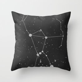 Orion Constellation 'The Hunter' Throw Pillow