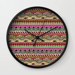 Hippie Chick IV Wall Clock
