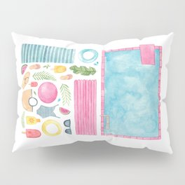 Pool Party! Pillow Sham