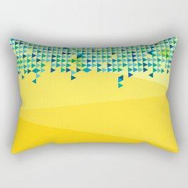 Triangled 06. 'Sunshine' Rectangular Pillow