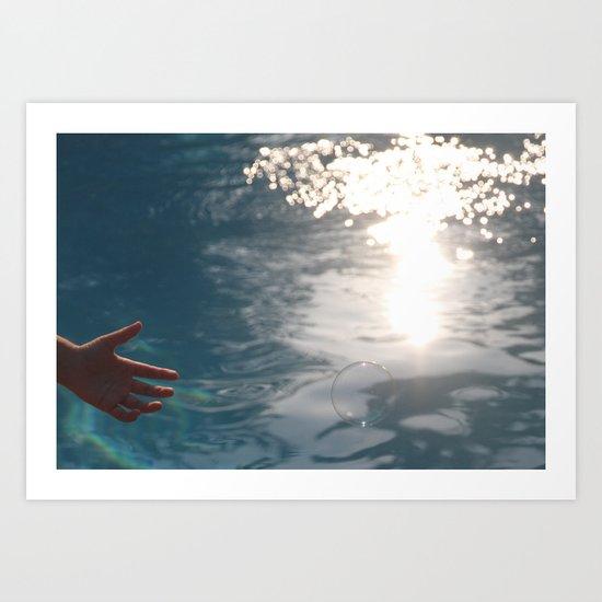 light being Art Print