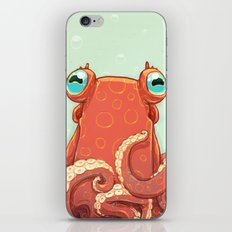 Goldie the Octopus iPhone Skin