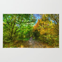 The Early Autumn Forest Rug