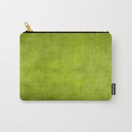 """""""Summer Fresh Green Garden Burlap Texture"""" Carry-All Pouch"""