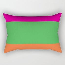 Rainbow Moon Rectangular Pillow