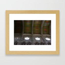 Catedral de Santa María la Real de la Almudena Framed Art Print