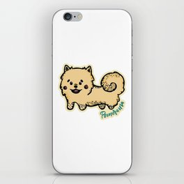 Pomerania Dog iPhone Skin