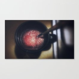 Space Tea - Open Your Mind Canvas Print