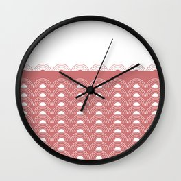 Watermelon Sunset Wall Clock