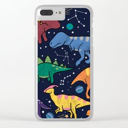 DinoStars Clear iPhone Case