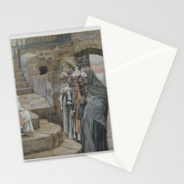 James Tissot - Jesus and the Little Child Stationery Cards