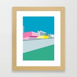 Berlin Perspectives - Kino International Framed Art Print