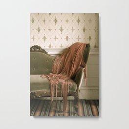 Drape Metal Print