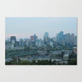 Downtown Edmonton Canvas Print
