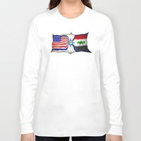 flag Long Sleeve T-shirts featuring Flag by ℳajd