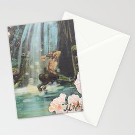 The Faun and the Mermaid Stationery Cards