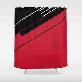 Man Machine Shower Curtain