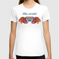 crab T-shirts featuring Oh, Crab! by ArtLovePassion