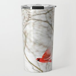 Cardinal Refraction Travel Mug
