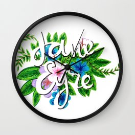 jane eyre Wall Clock