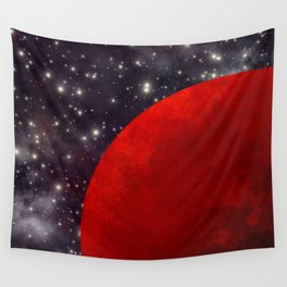Mars In The Stars Wall Tapestry