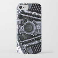 motorcycle iPhone & iPod Cases featuring MOTORCYCLE  by ALX RUTECKI
