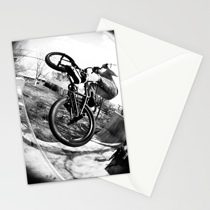 bikes  Stationery Cards