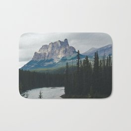 Above the Tree Line Bath Mat