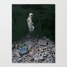 Mooninite Canvas Print