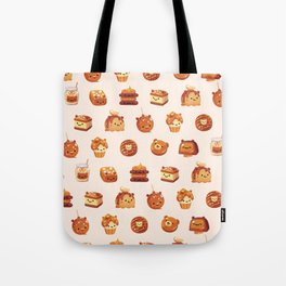 Salted caramel bear Tote Bag