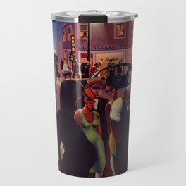 African-American 1934 Classical Masterpiece 'Black Belt' by Archibald Motley Travel Mug